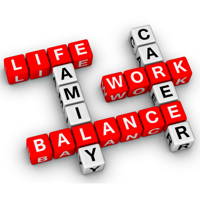 Balance between work and leisure